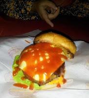 Rawang Burger Bakar MITC Melaka