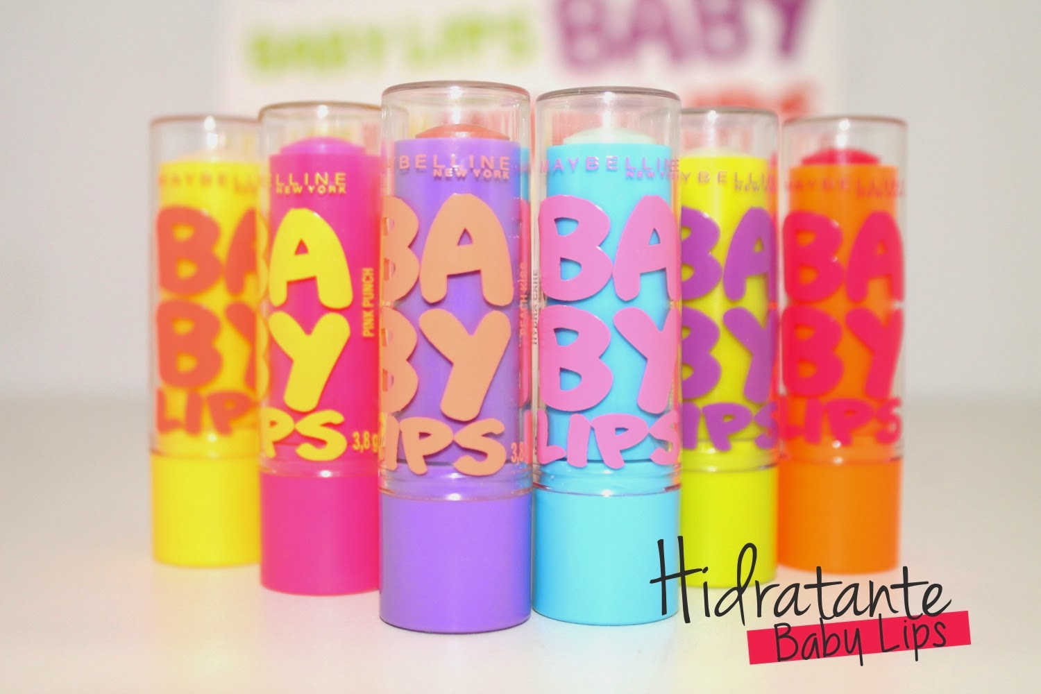Hidratante labial Baby Lips - Maybelline