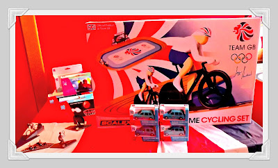 Hornby, event, Hamleys, London 2012, Team GB, merchandise, Trains, velodrome set, toys