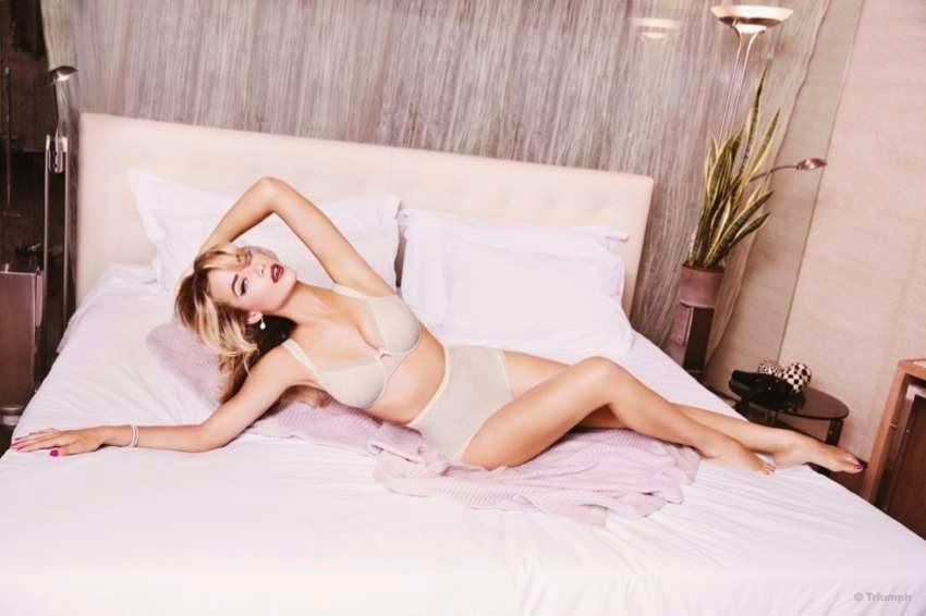 Triumph Lingerie Spring/Summer Latest Campaign featuring Hannah Ferguson