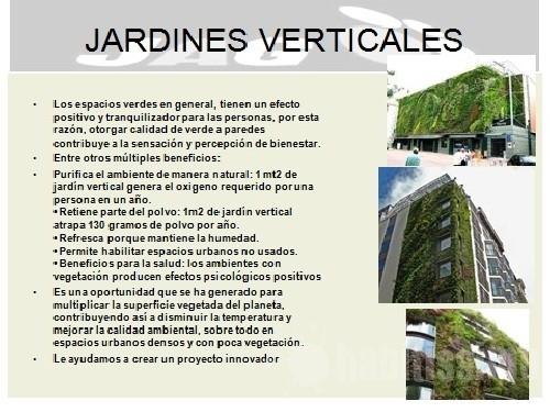 Enroque de ciencia primer jard n vertical hospitalario de for Para que sirven los jardines verticales