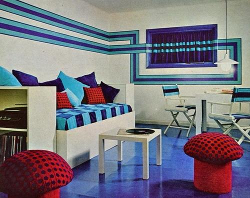 New Home Design Ideas Theme Inspiration Retro Stylish Seventies