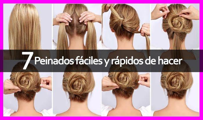 7 peinados f ciles y r pidos de hacer cronos films tv - Como hacer peinados faciles y rapidos paso a paso ...