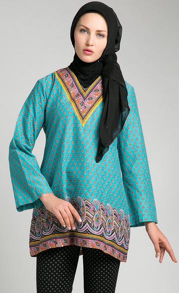 Foto Baju Muslim Batik