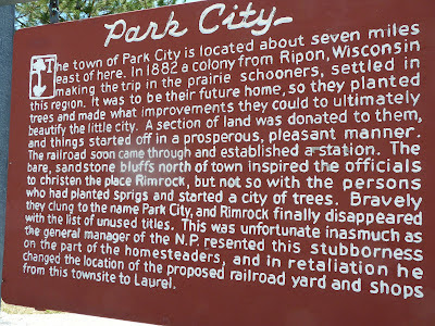 sign about Park City