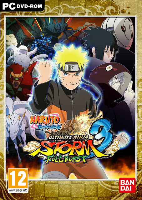 Naruto Ultimate Ninja Storm 3 Full Burst HD Wallpaper