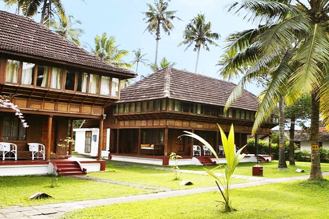 Coconut Lagoon Beach Resort in Kumarakom, Kerala