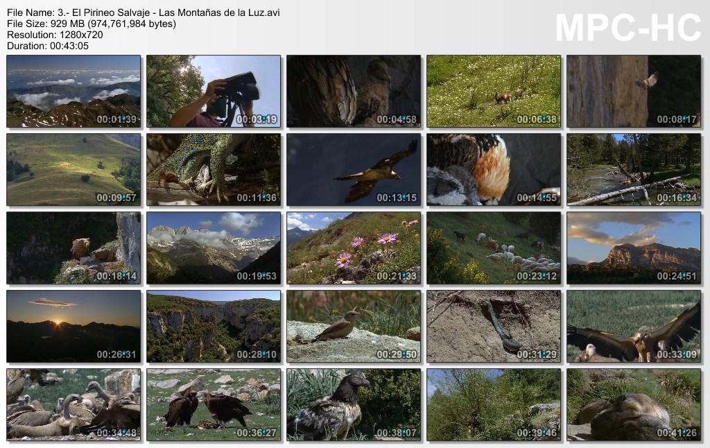 3GB|TVE|Pirineos Salvajes|3-3|HDTV 720p|Mega|