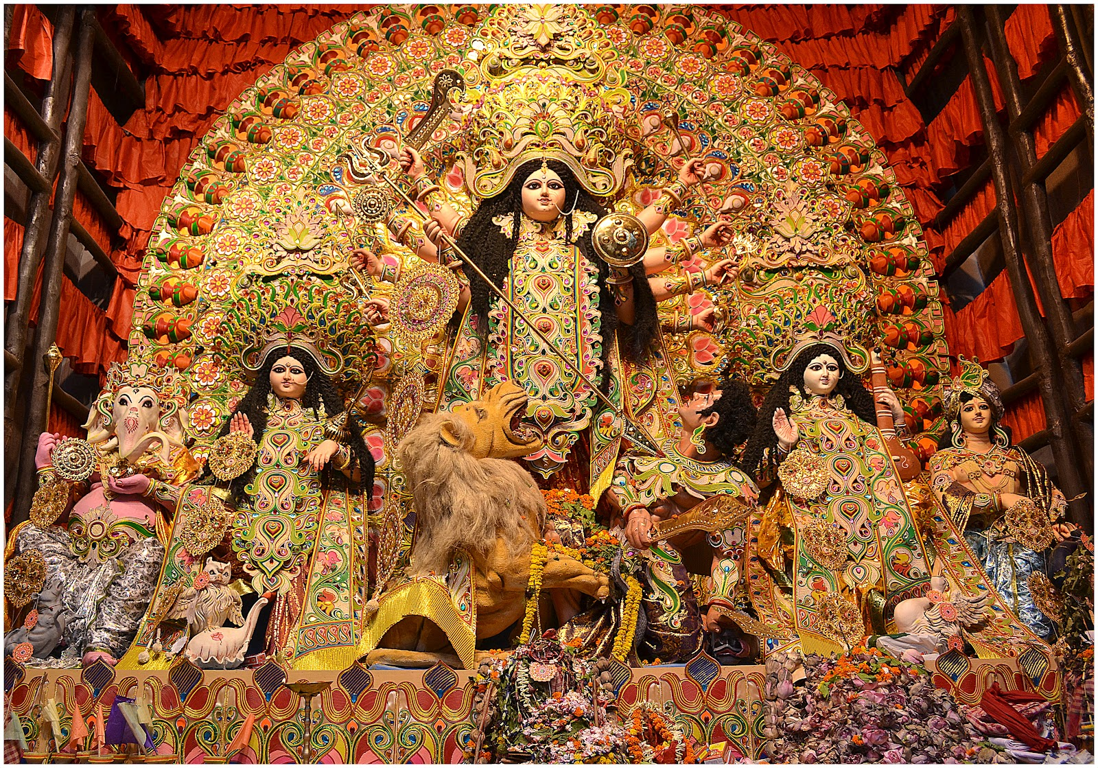 durga puja Navratri | durga puja is an indian festival held twice a year and probably the most widely celebrated hindu festival dedicated to goddess durga it's a nine night festival.