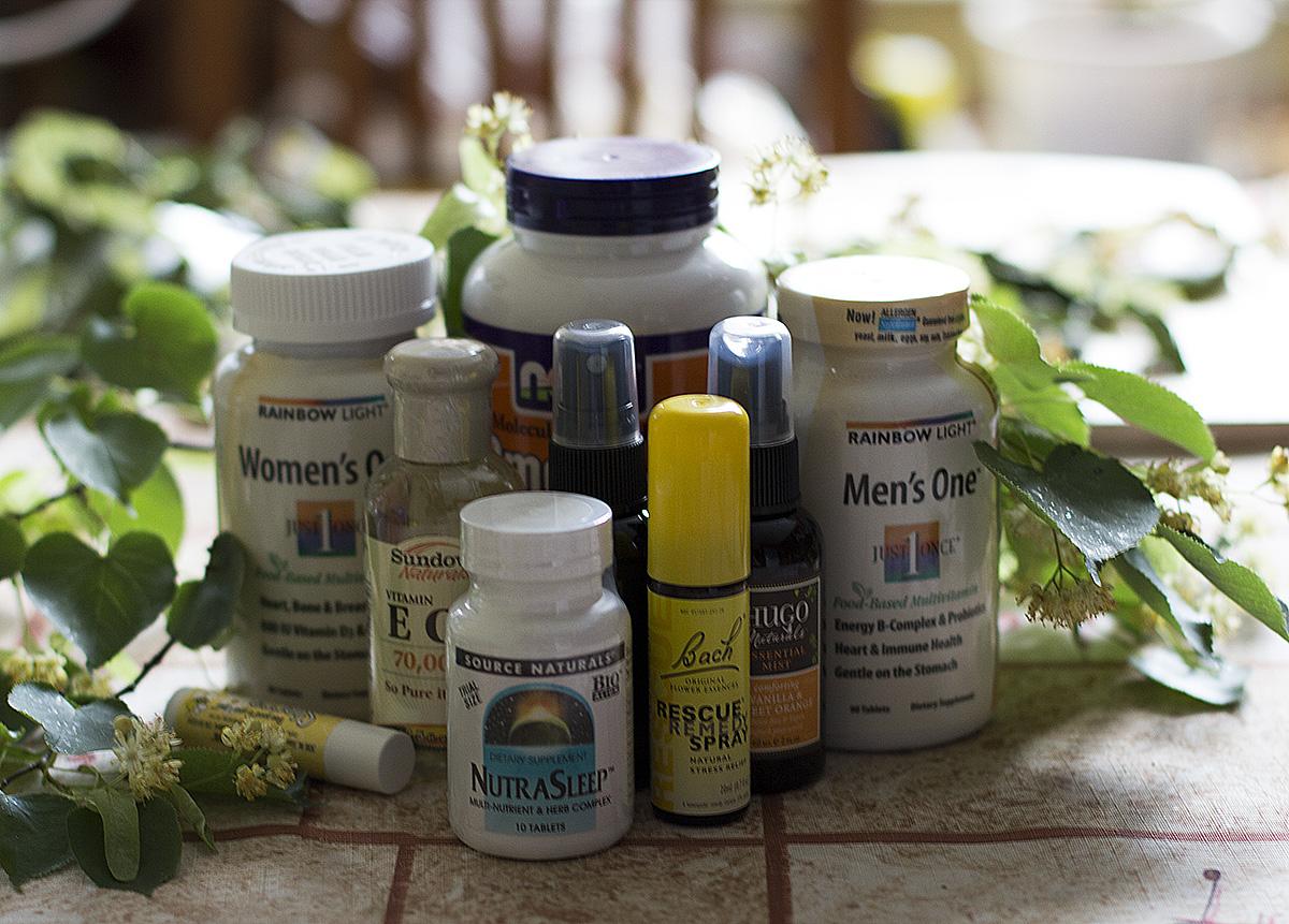 витамины на iherb