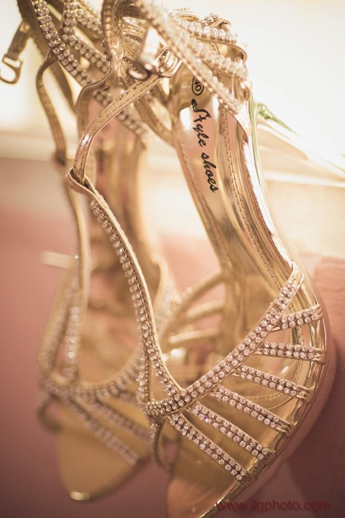 Mariage de Steffy et Manuel: les shoes de Steffy