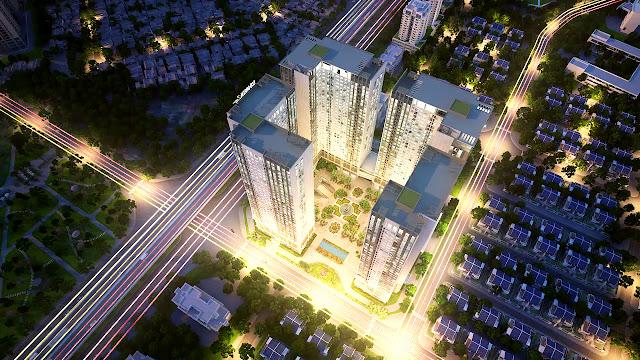 Phối cảnh dự án Eco Green City