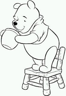 Dibujos de Winnie Pooh para Pintar, parte 7
