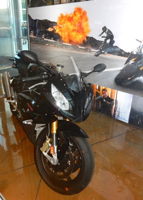 Mission Impossible Rogue Nation BMW motorbike