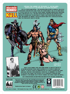 "Figures Toy Company 8"" Robert E Howard Retro (Mego-Style) Kull Card - Back"