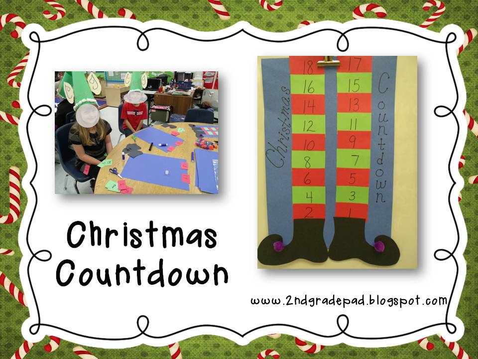 Marvelous 2nd Grade Christmas Craft Ideas Part - 12: Christmas Craft Day And Freebie #6