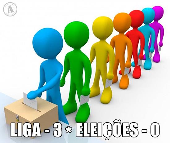 ALT da Foto: Eleições Legislativas: Liga 3 * Eleições 0