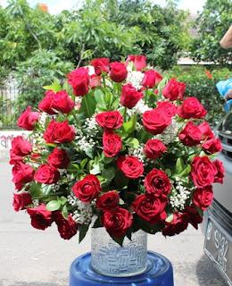 """<img src=""""rangkaian bunga.jpg"""" alt=""""rangkaian bunga mawar"""">"""