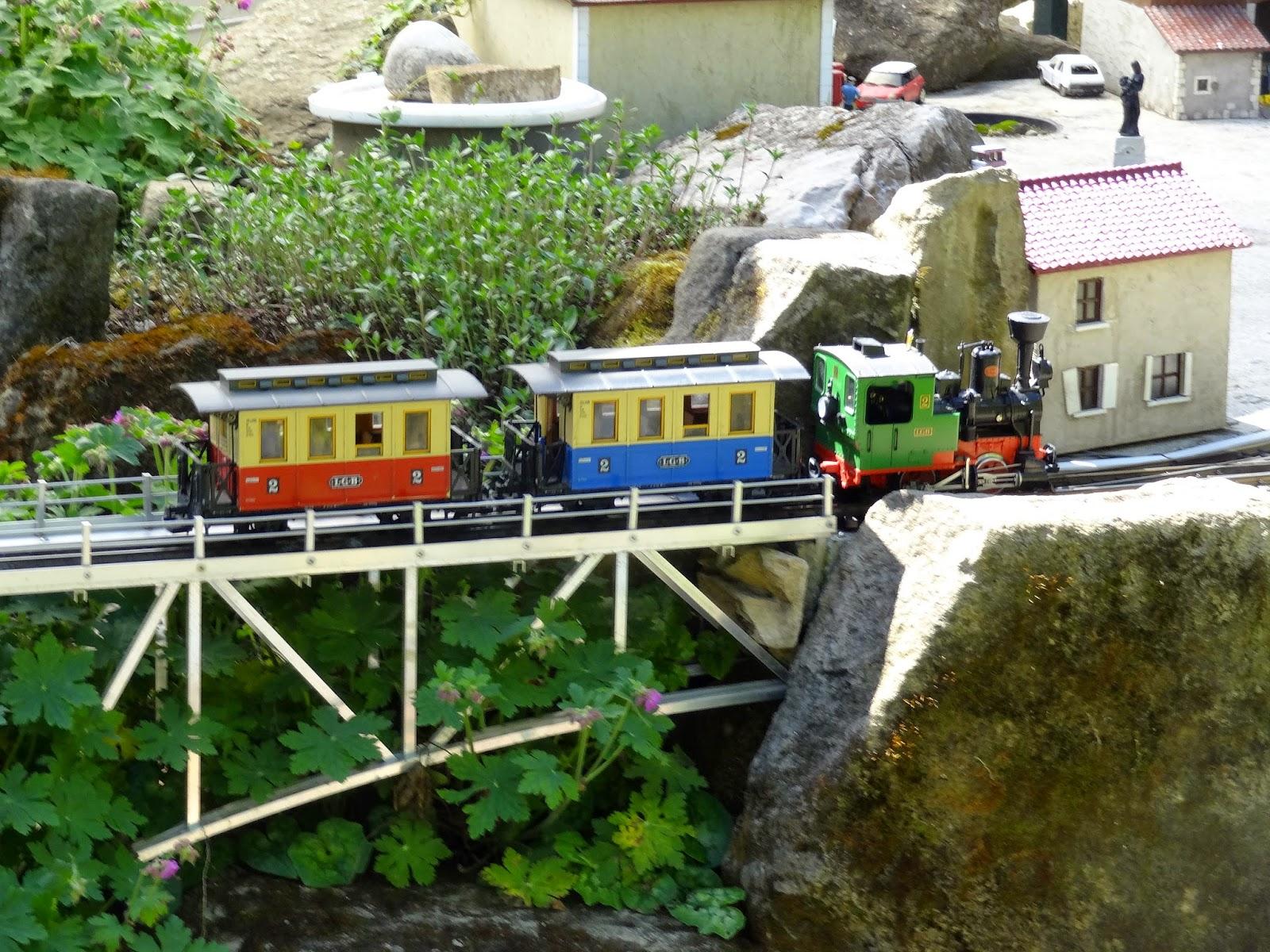 Le temps des loisirs jardin ferroviaire de chatte for Jardin ferroviaire