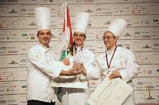 Vargáné Orbán Anikó a zsűri tagja a Milánó 2015 Tortadesigner Világbajnokságon