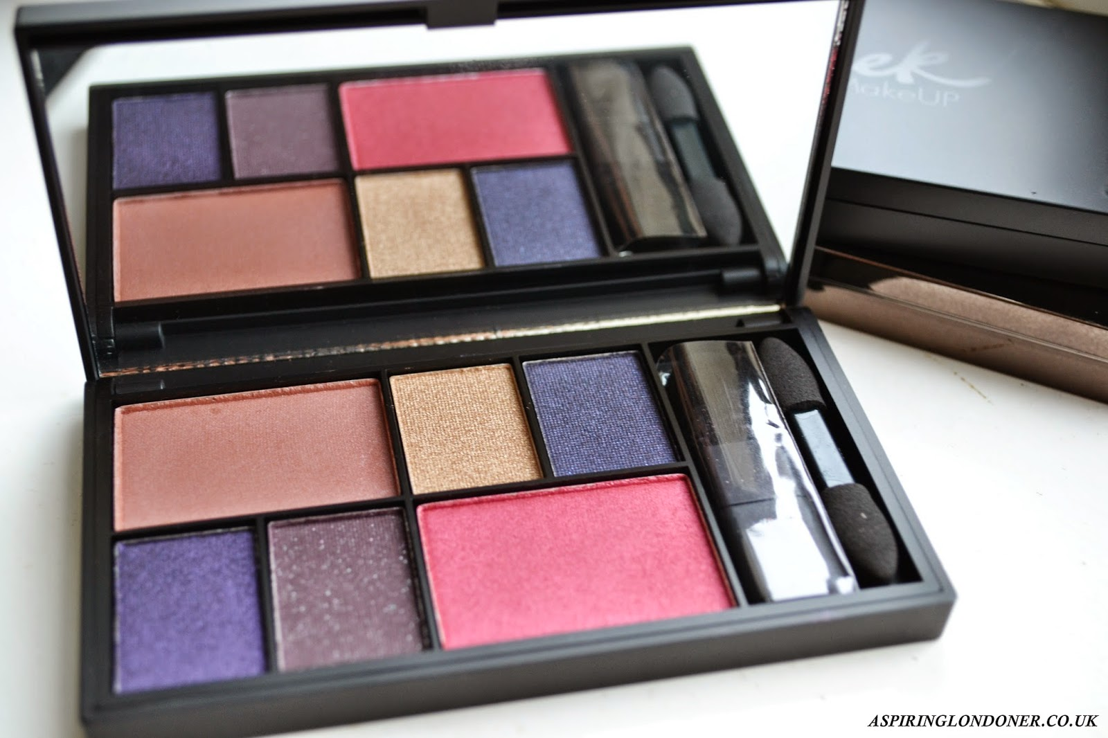 Sleek MakeUp Eye & Cheek Palette See You At Midnight Review - Aspiring Londoner