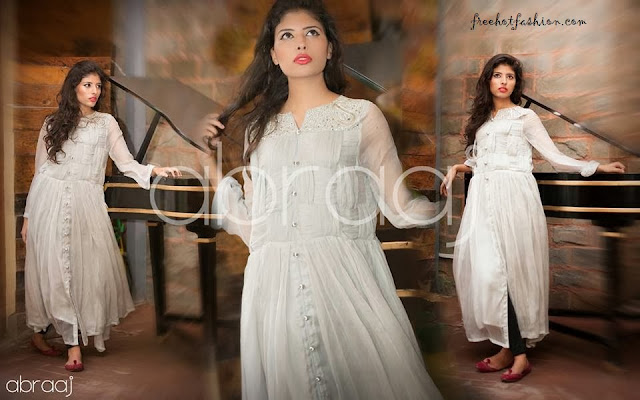 Abraaj Letest Party Wear Dresses Collection 2013-2014 For Girls And Womens By Fashion She9