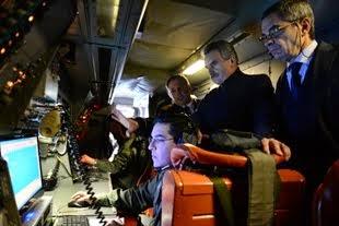 Ministro de Defensa visito la EA6E