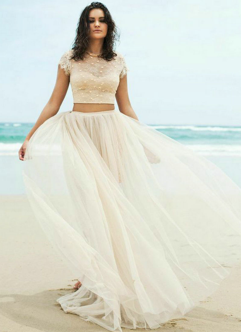Great Beach Wedding Dresses 2015 Images