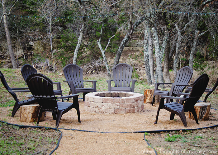 Easy Backyard Fire Pit Designs :  ideas  easy diy backyard patio ideas outdoor hot tub design ideas