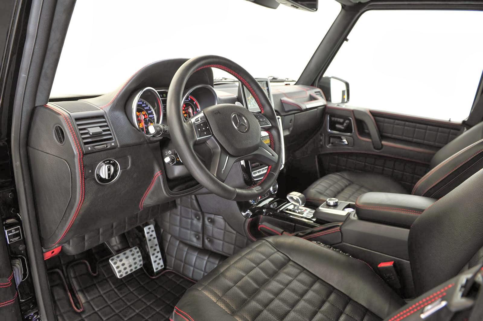 GWagon Brabus 800 iBusiness Front Interior