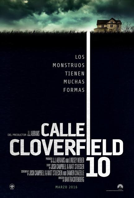 Tráiler y póster español de 'Calle Cloverfield 10', en el universo de 'Monstruoso'
