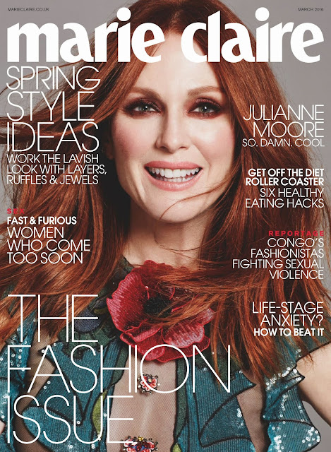 Actress, @ Julianne Moore - Marie Claire UK, March 2016