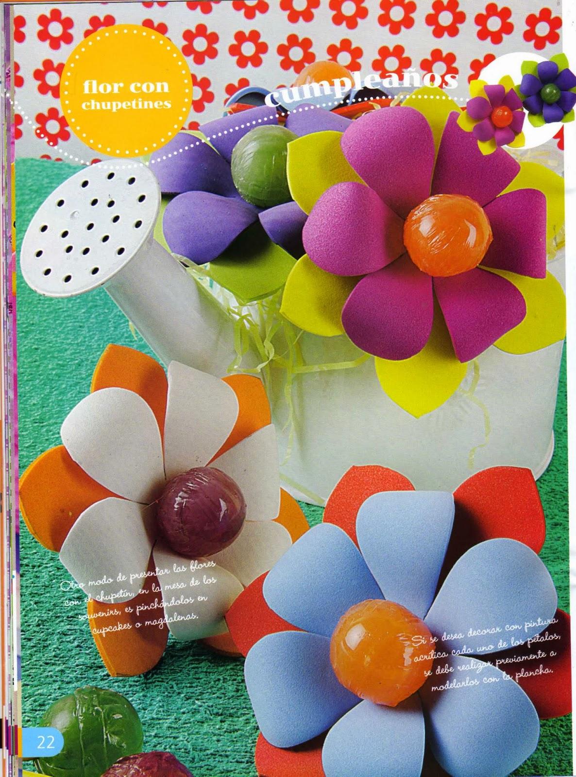 souvenirs con goma eva paso a paso revistas de On manualidades con goma eva paso a paso para ninos