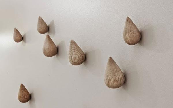 Percheros pared originales decorar tu casa es - Percheros de pared originales ...