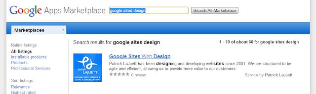 Google Apps Marketplace Vendor