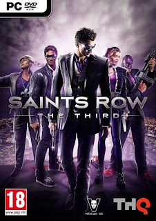 Saints Row The Third PC Game (cover)