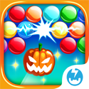 Bubble Mania: Halloween App iTunes App Icon Logo By TeamLava - FreeApps.ws