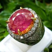 Cincin Batu Permata Pink Sapphire - SP605