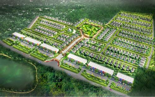 Landscape perumahan citraland bsb Semarang