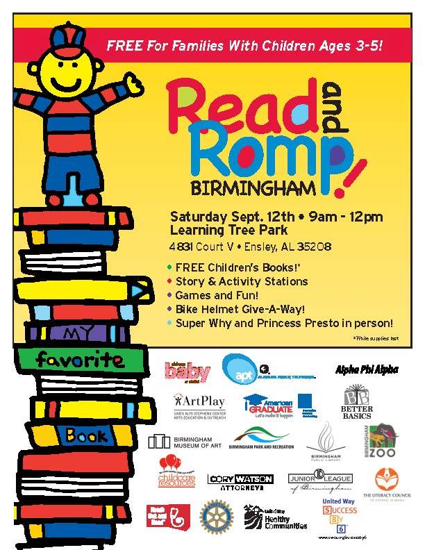 Read and Romp poster