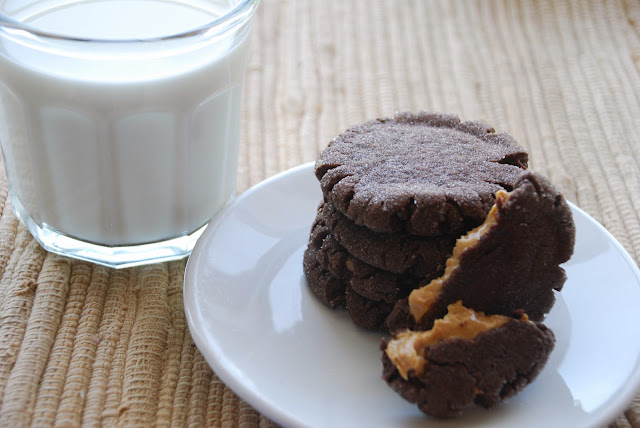 Everyday Insanity...: Peanut Butter Surprise Cookies