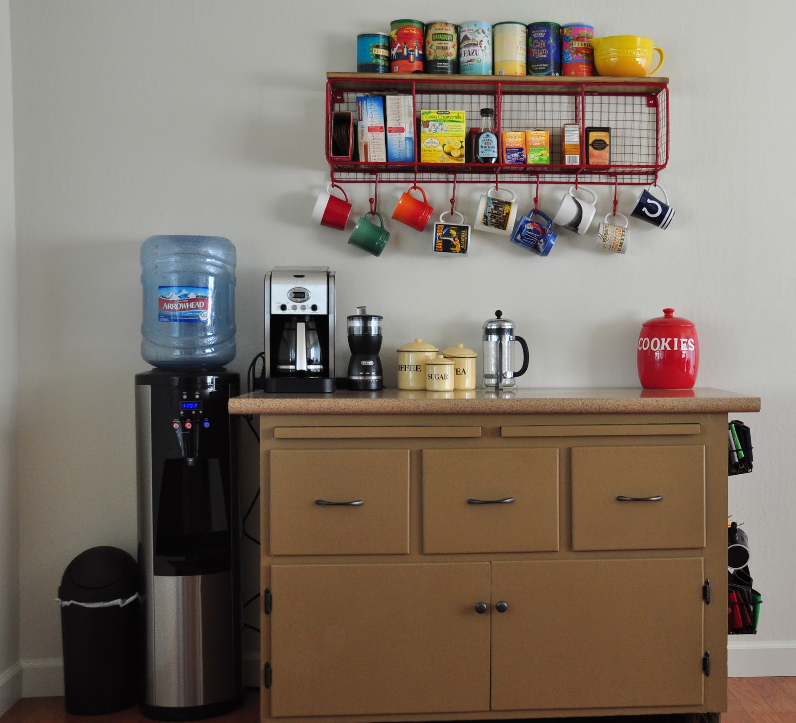 Coffee bar for your home wit wisdom food for Home bar station