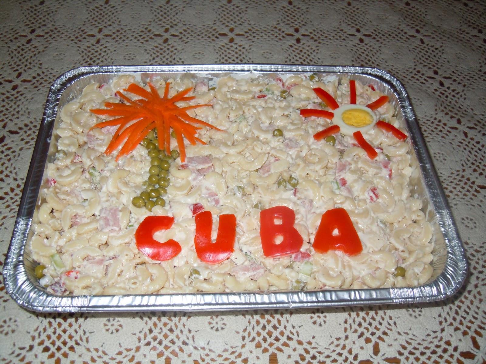 My cuban traumas it s a small world 5th birthday party - Decoracion de ensaladas ...