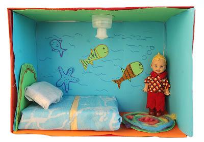 como fazer miniatura casa de boneca material reciclável brinquedo