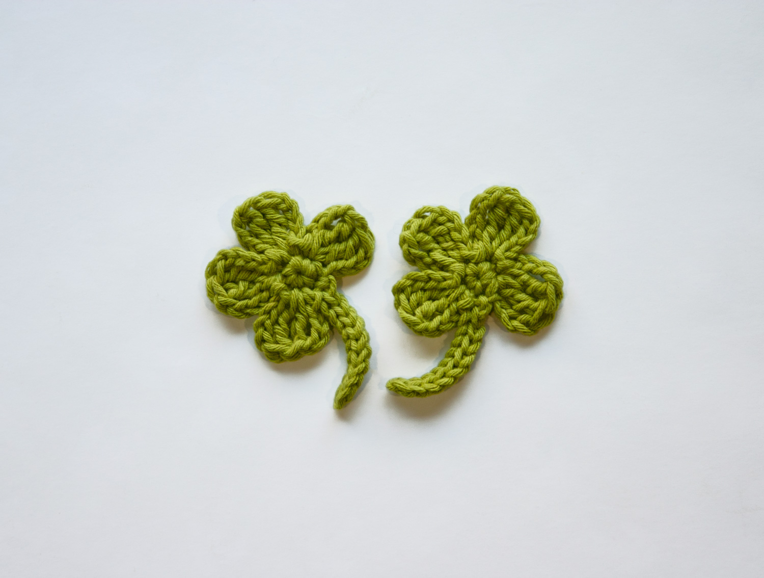 Leaf crochet pattern 4