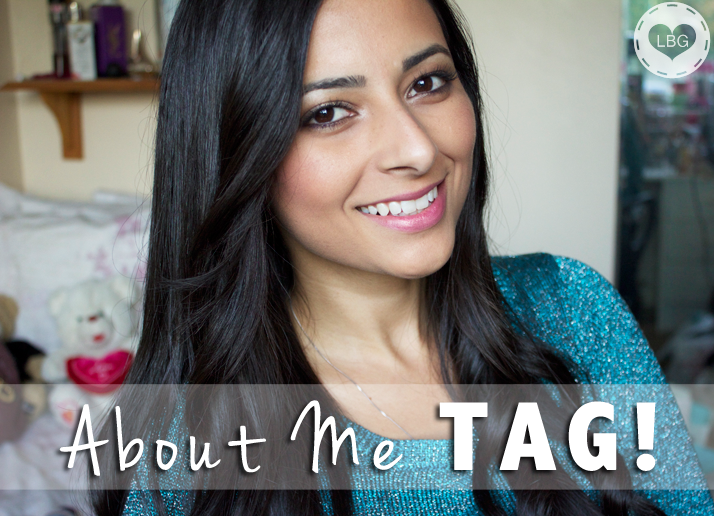 About Me Tag | Le Beauty Girl