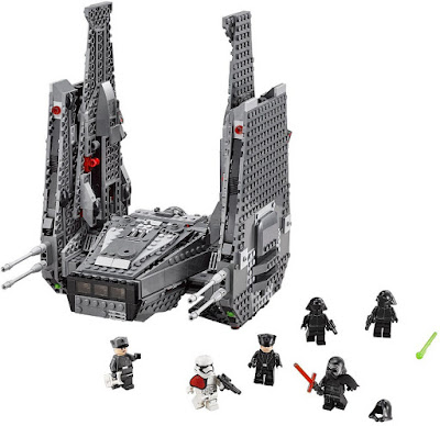 TOYS : JUGUETES - LEGO Star Wars VII 75104 Kylo Ren's Command Shuttle  Star Wars Episodio VII El Despertar de la Fuerza - The Force Awakens Producto Oficial Película Disney 2015 | Piezas: | Edad: 9-14 años Comprar en Amazon España & buy Amazon USA