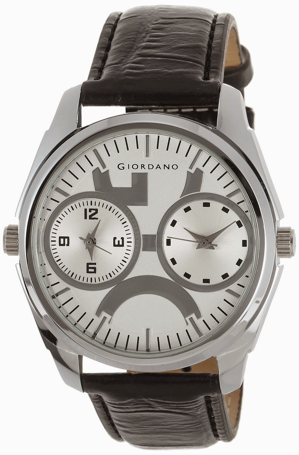 Amazon: Buy Giordano Analog White Dial Men's Watch – P10720 at Rs.1195
