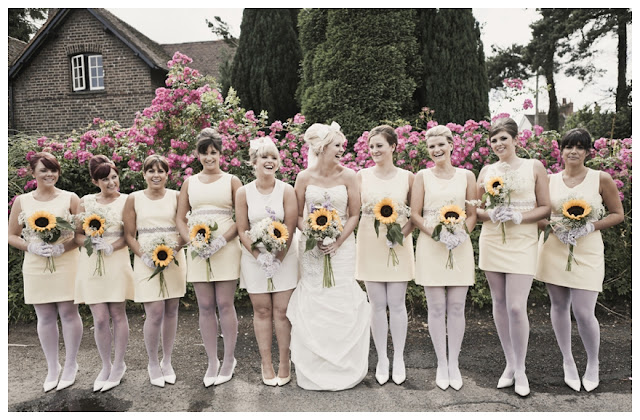 Vintage Sunflower Wedding Ideas
