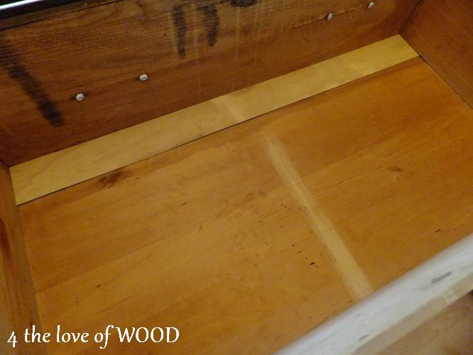 4 the love of wood fixing a broken drawer tutorial. Black Bedroom Furniture Sets. Home Design Ideas